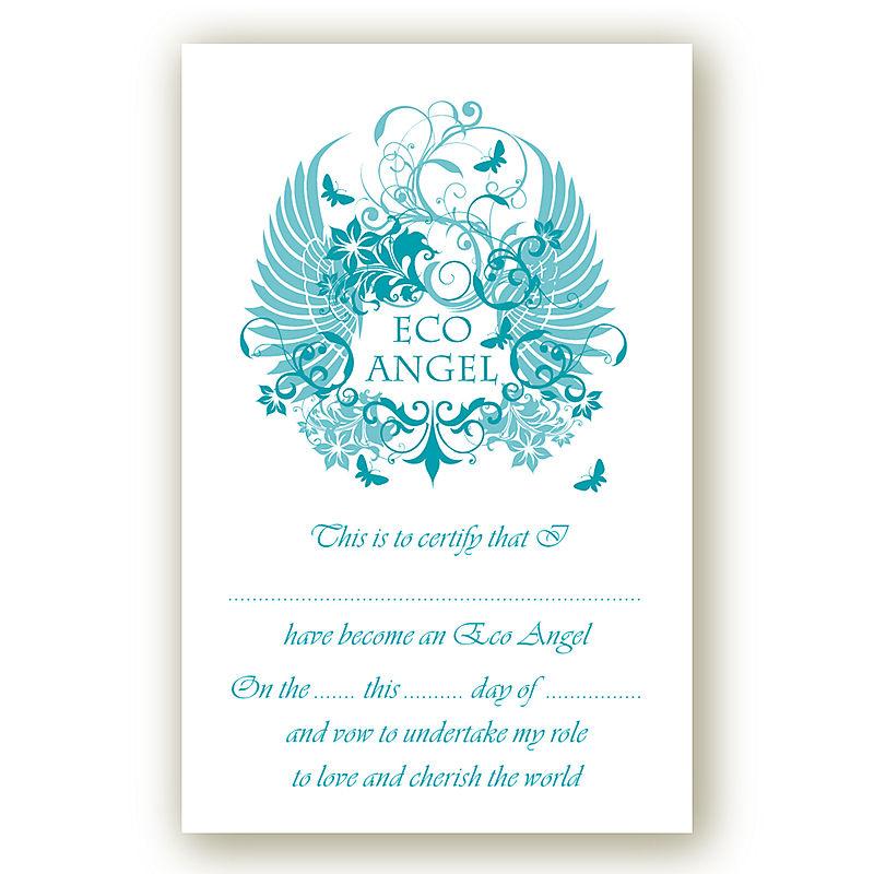 Eco angel card 1