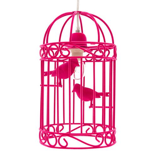 Pink Twitter Pendant