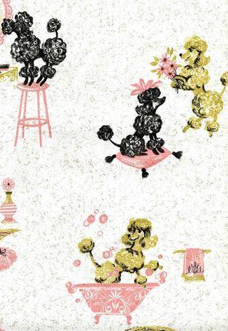 Vintage-pink-poodle-wallpaper-4
