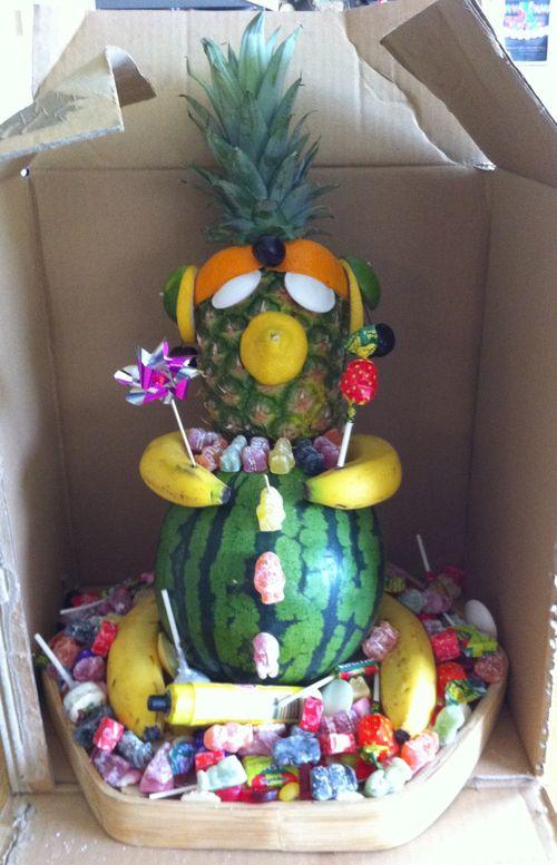 Fruit Buddha 1