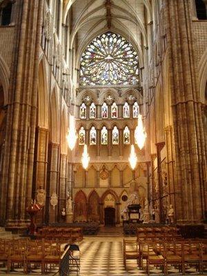Inside westiminster abbey 2