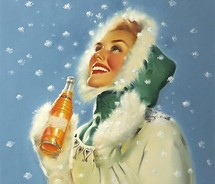 Ad,artwork,flickrsfinest,girl,illustration,old,pop,pretty,retro,snow,vintage,winter,woman-05d5cc5fd7d7b9dacd981a86e686c7f9_m