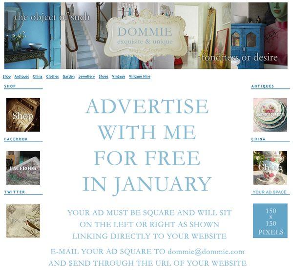 Advertise with Dommie