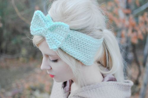 Bow head scarf