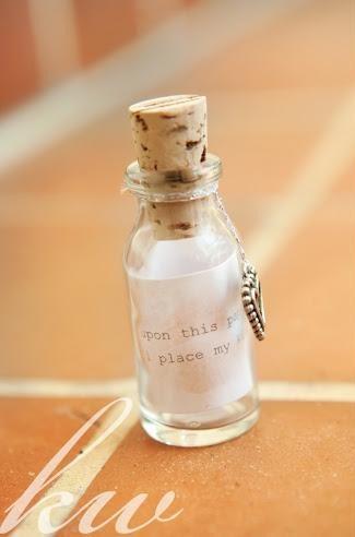 Kiss in a bottle