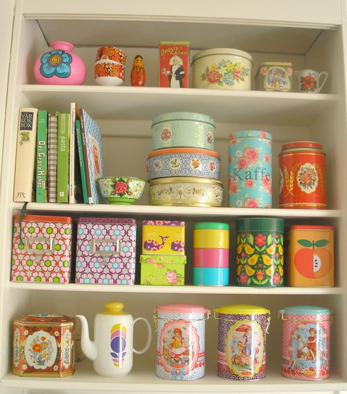 Pink Friday Kitsch Shelves